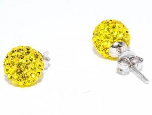 Серебряные серьги-пусеты Silver Wings серебро с кристаллами сваровски новые, очень красивые