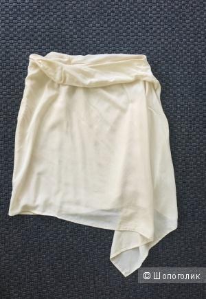 Юбка натуральный шелк Zara