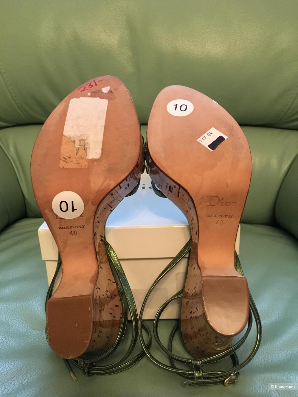 Пристраиваю новые босоножки Dior 39 размера