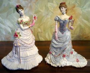 Фарфоровые статуэтки Royal Wocester коллекция