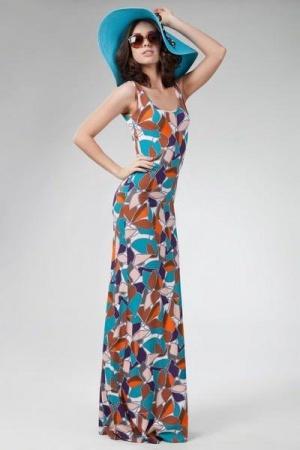 Платье сарафан Bestia, р. 42-44. На высокий рост.