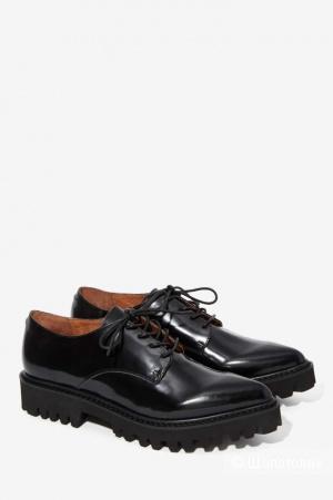 Новые кожаные ботинки  оксфорды Jeffrey Campbell 40 размера
