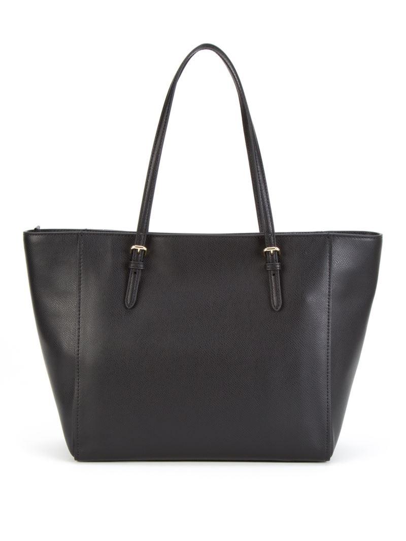 Кожаная сумка-тоут Coach