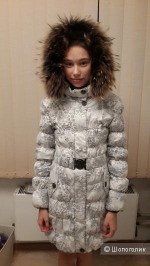 Пуховик LEVIN FORCE для девочки 158 см