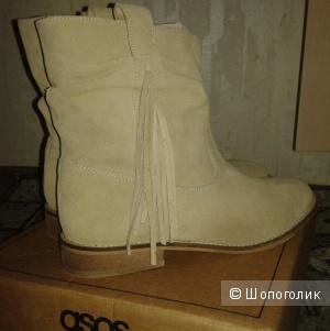 Ботинки замшевые ASOS, 40,5 размер