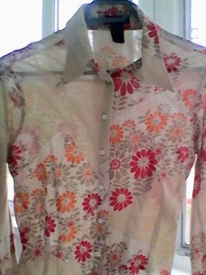 Блузка из тончайшего 100% трикотажа Сusto Barcelona 42 р