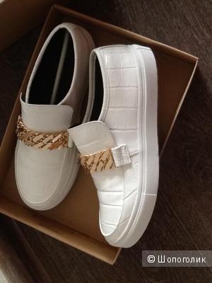 Кроссовки asos белые размер 6 UK