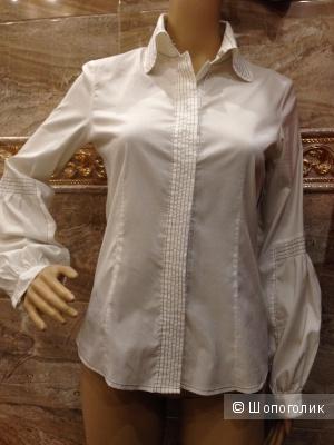 Красивая офисная женская рубашка от PENNYBLACK Max Mara Group р.42-44