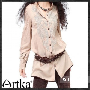 Новая рубашка-туника от Артка(Artka) в бохо стиле
