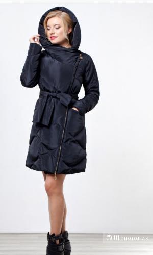 Новое и очень стильное пуховое пальто Tafika