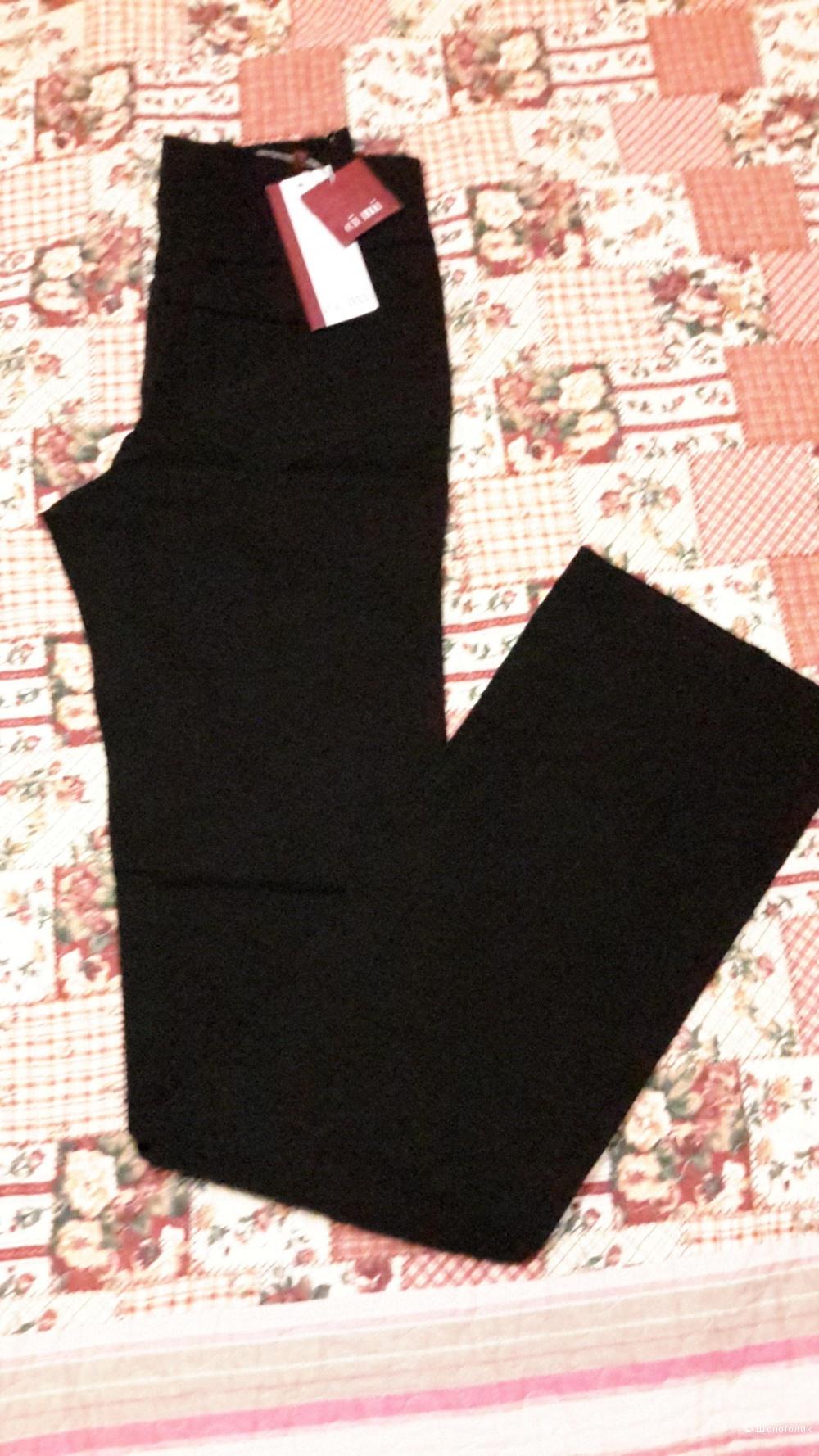 Черные брюки Ci mi размер 46 новые