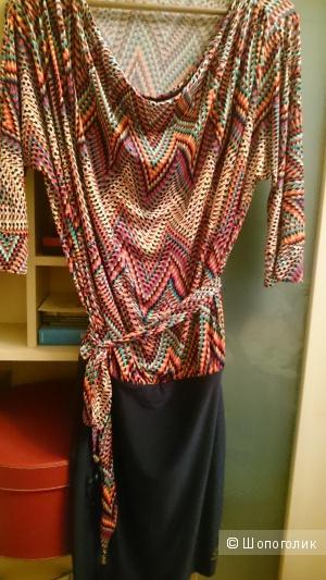 Платье коктейльное, 44 размер, новое