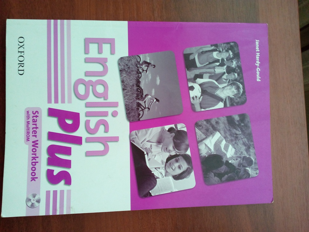 English Plus Starter учебник и рабочая тетрадь.