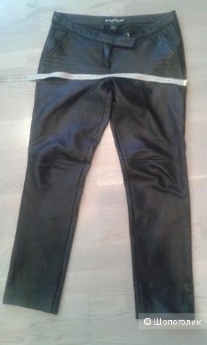 Кожаные брюки из натуральной кожи размер 10 US