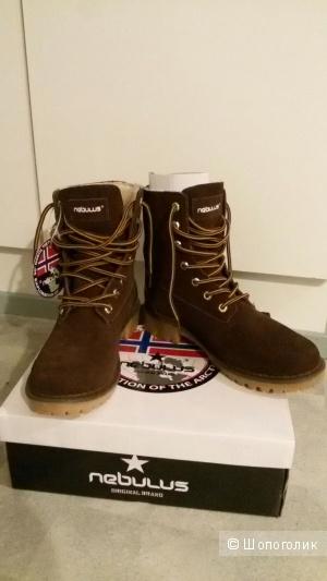 Оригинальные немецкие зимние женские ботинки Nebulus 38 р. (новые)