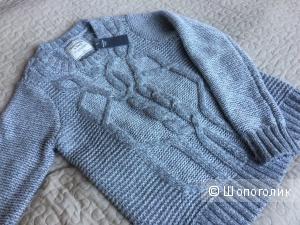 Продаю новый женский свитер Abercrombie&Fitch серого цвета, размер S