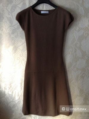Коричневое кашемировое платье FTC 40-42
