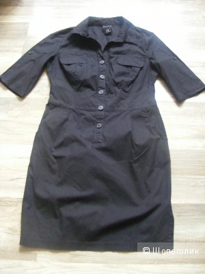 Платье Best Connections 46 размер в стиле *сафари* хлопок
