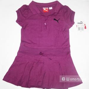 Новое платье-поло Puma на девочку 1-3 года