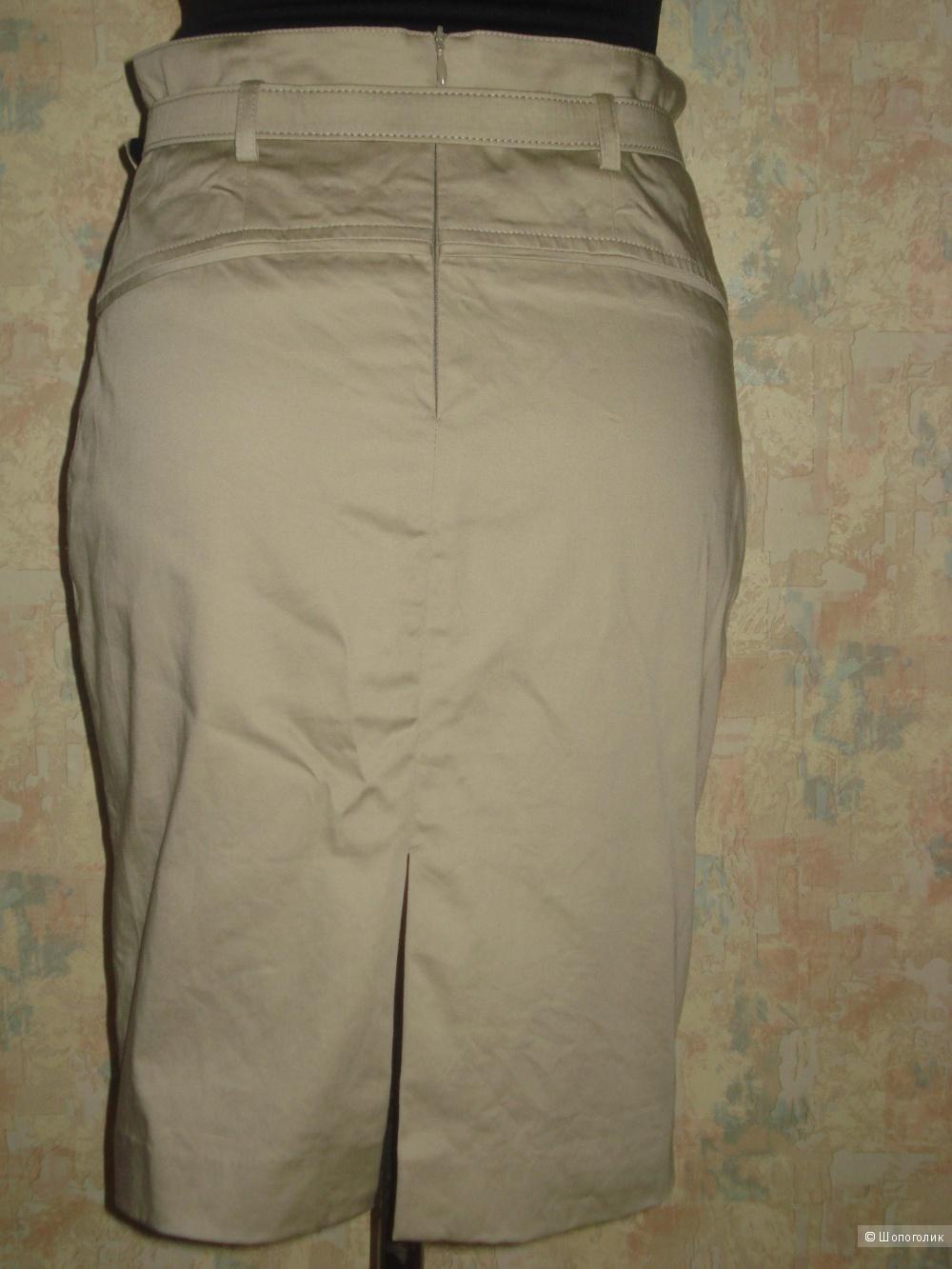 Хлопковая  юбка Stefanel р. 42