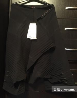 Брюки (брюки-юбка) шеле новые необычные
