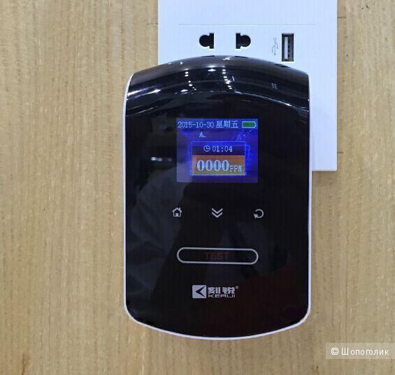 Датчик Sititek с LCD дисплеем сигнализатор детектор утечки угарного газа СО для дома, квартиры и бани