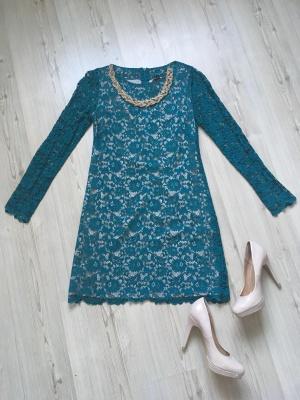 Гипюровое платье noname, размер М