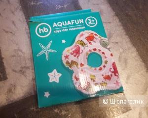 Круг для новорожденных для купания Happy Baby Aquafun, музыкальный, 3-24 мес.