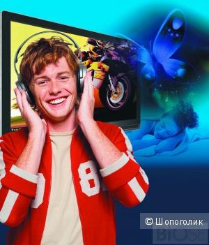 Беспроводные телевизионные mp3 стерео наушники «Ангел» для tv, радио, компьютера и телефона