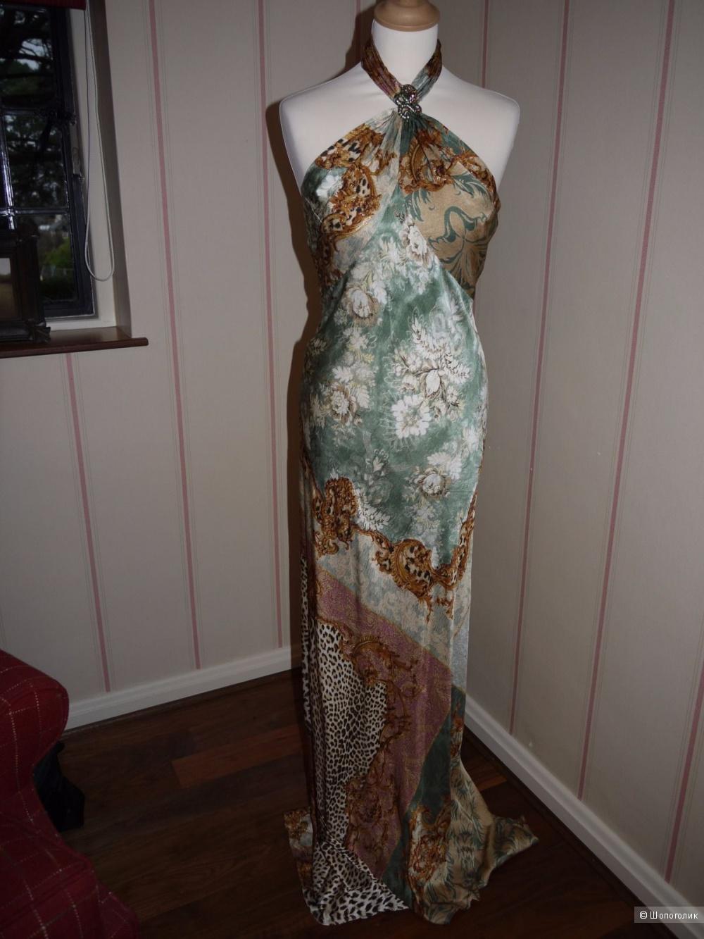 Шикарное вечернее платье Roberto Cavalli, р44