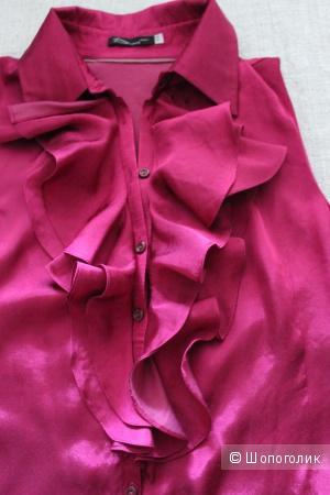 Новая красивая блузка 100% вискоза на 46-48 размер.