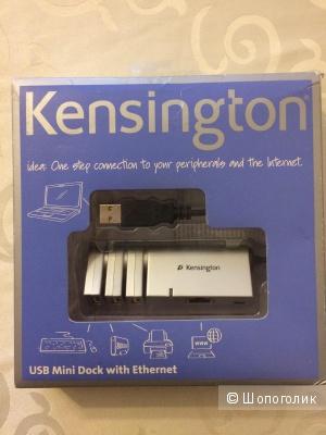 Мини док-станция Kensington USB с Ethernet  Mac/PC