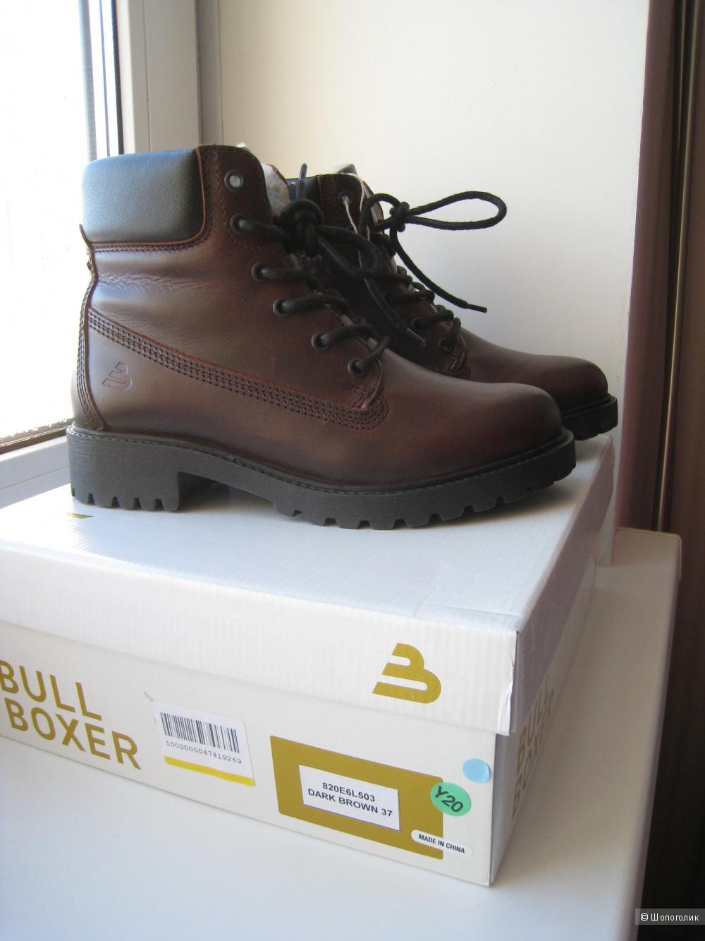 Ботинки утепленные BULL BOXER, 37р.