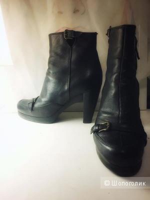 Ботинки FENDI темно-коричневые