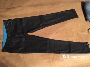 Джинсы черные с напылением Faith Connexion размер 28 маломерят, на 27-28.