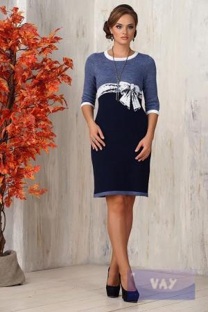 Вязаное платье VAY (Россия), 42