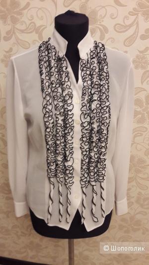 Стильная и строгая блузка