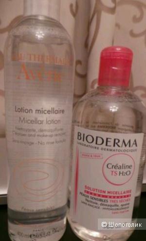 Мицеллярные воды: Bioderma y Avene
