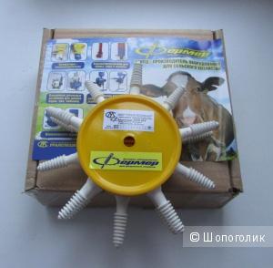 Перосъёмная ёрш насадка на дрель Фермер НП 01 для автоматического ощипывания пера и пуха домашней птицы