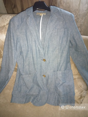Продаю пиджак хлопково-джинсовый р 42-44 ит.  MICHAEL MICHAEL KORS