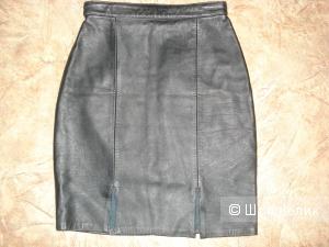Новая кожаная юбочка Leather Rockets р.XS
