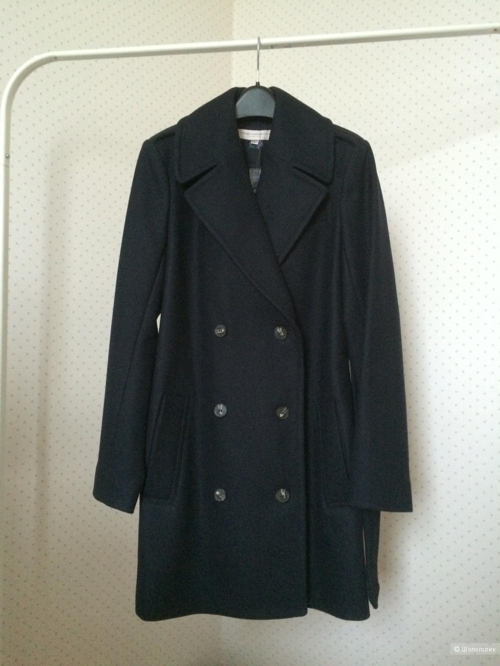 Новое шестяное пальто French Connection, росс. размер 44