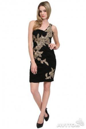Красивейшее дизайнерское платье от SUE WONG р.44.Новое.Оригинал