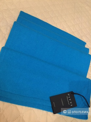 Абсолютно новый шарф Pitti international cashmere кашемир 100%