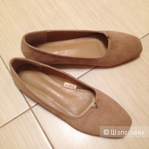 Туфли на плоской подошве