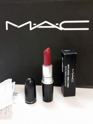 Новая помада МАС Matt Lipstick. оттенок D for Dancer