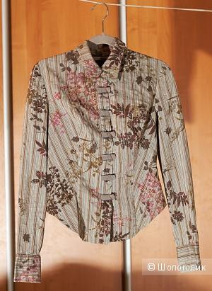 """Дизайнерская рубашка """"Гота"""", р. XS (на 40-42)"""