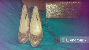 Вечерние туфли Ronzo и сумочка