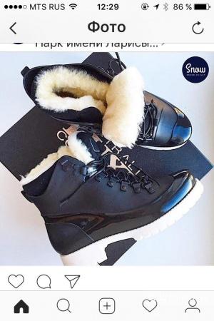 Новые ботинки Australia Luxe Collective зимние