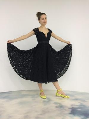 Идеальное кружевное платье